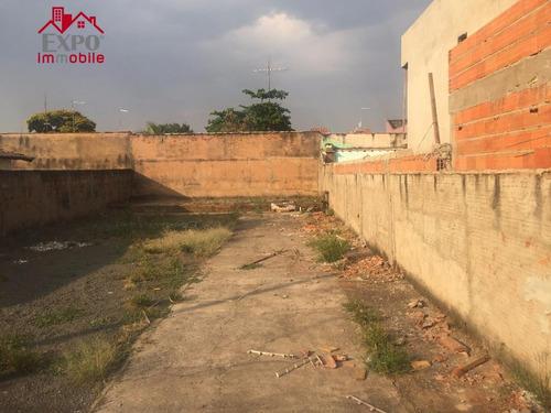 terreno comercial para venda e locação, jardim santa mônica, campinas. - te0042