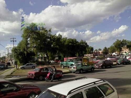 terreno comercial renta 4,189 m² centro tizayuca hidalgo, con 180 m. de frente a las calles principales, junto a la presidencia municipal y catedral ideal para negocios anclas, bancos, cines y superm