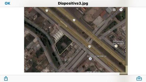 terreno comercial sobre la carretera 57 qro-mex .a pie de carretera. pedro escob
