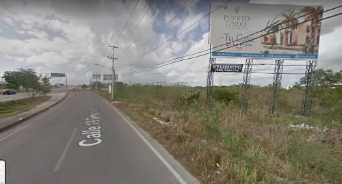 terreno comercial sobre periferico de merida. 4 hectareas. excelente para inversion o giro comercial