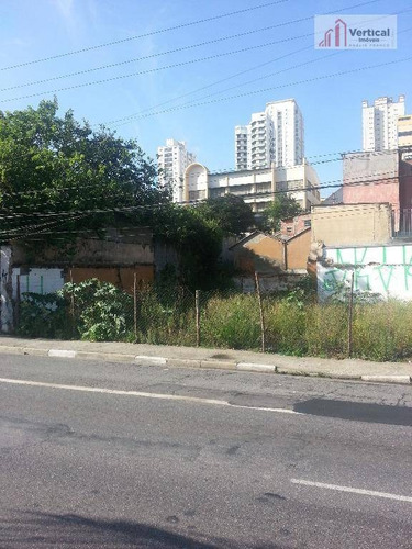 terreno comercial à venda, água rasa, são paulo - te0013. - te0013
