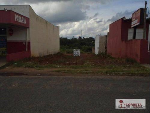 terreno comercial à venda, césar de almeida, marília - te0033. - te0033