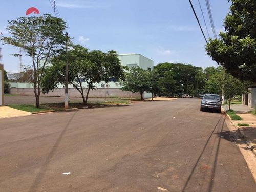 terreno comercial à venda com 995,87m² , alvorada parque em betel, paulínia. - codigo: te0016 - te0016