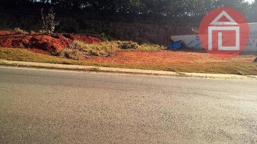 terreno comercial à venda, condomínio residencial sunset village, bragança paulista - te0629. - te0629