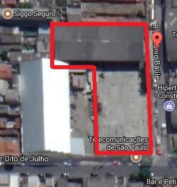 terreno comercial à venda, fundação, são caetano do sul. - te0162