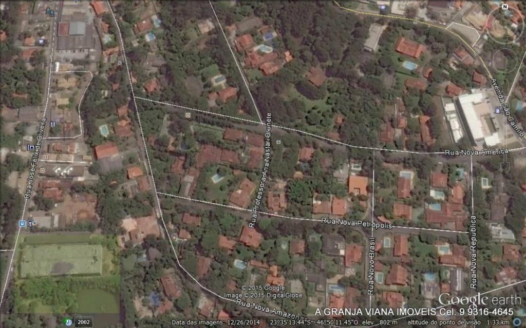 terreno  comercial à venda, granja viana, cotia. te0097 agv - te0097