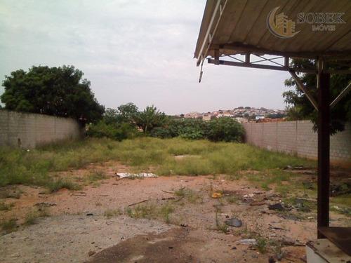 terreno comercial à venda, jardim centenário, campinas. - te0061