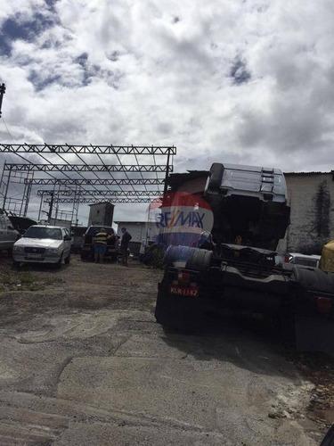 terreno comercial à venda, paratibe, paulista. - te0006