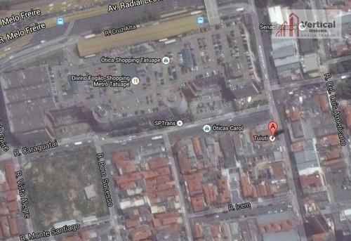 terreno comercial à venda, tatuapé, são paulo - te0278. - te0278