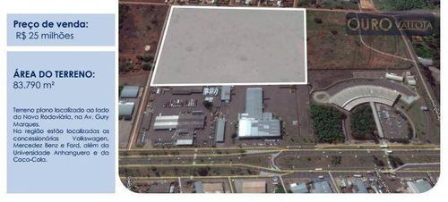 terreno comercial à venda, universitário, campo grande. - te0048