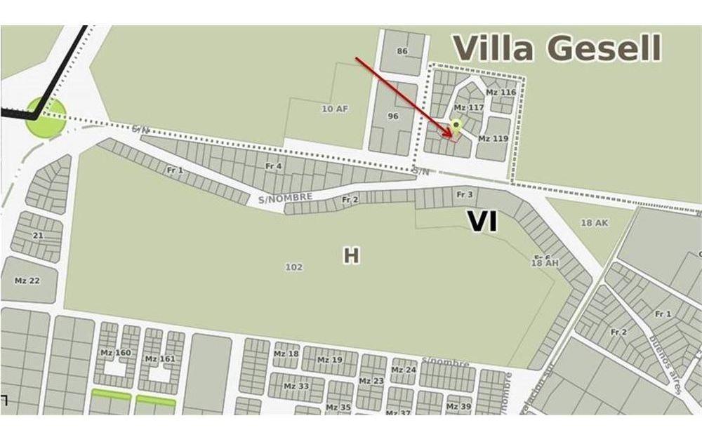 terreno comercial villa gesell - ideal inversion!