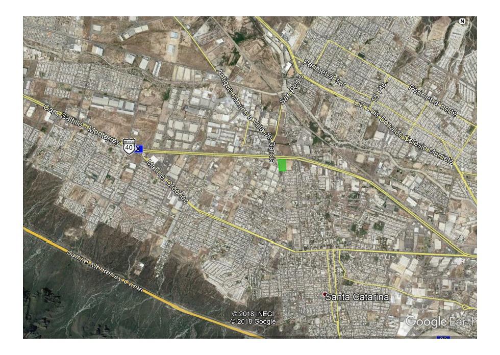 terreno comercial/industrial