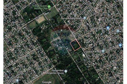 terreno con casa a 15 cuadras estación t. suarez!