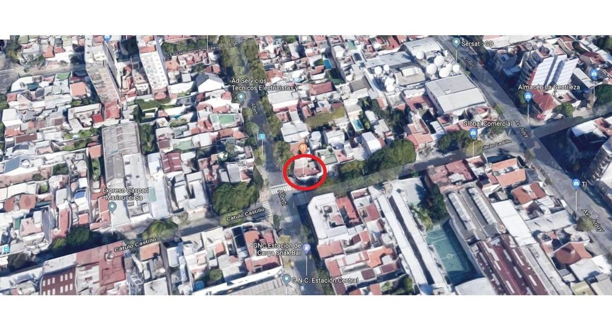 terreno con edificacion - parque patricios