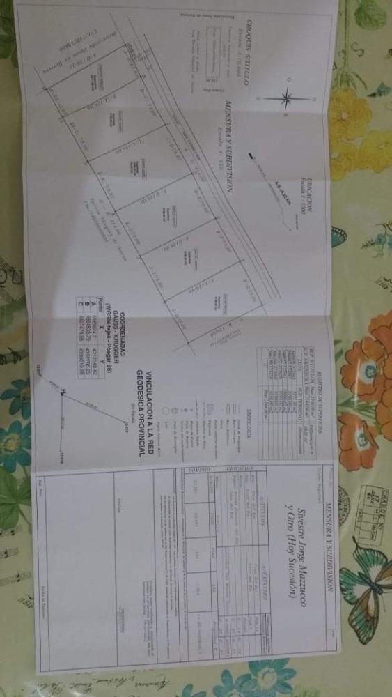 terreno con escritura y subdivision