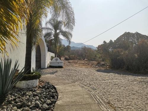 terreno con escrituras en venta en tepoztlán
