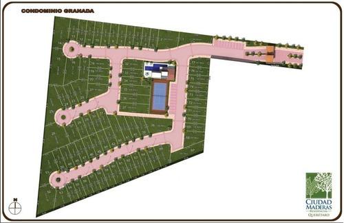terreno con excedente de 463 m2 en ciudad maderas, el marques