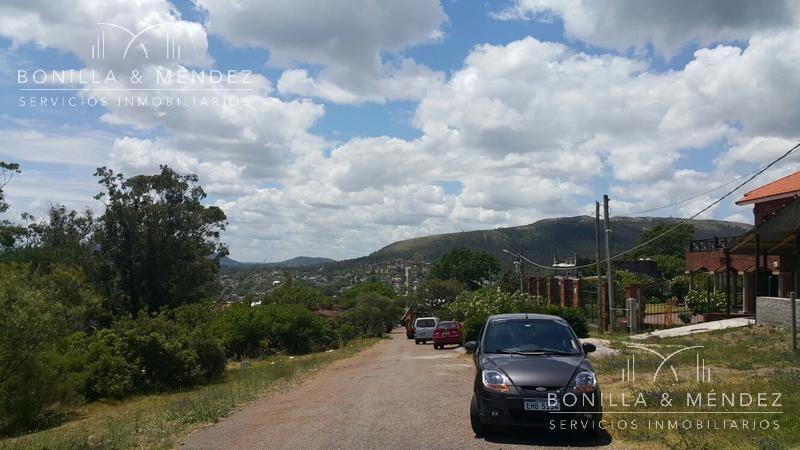 terreno con excelente vista en cerro san antonio
