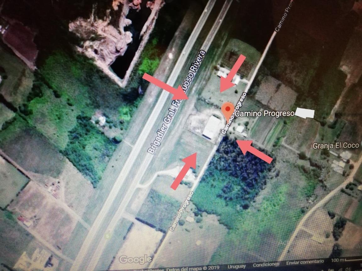 terreno con galpón , ruta 5 y perimetral 102