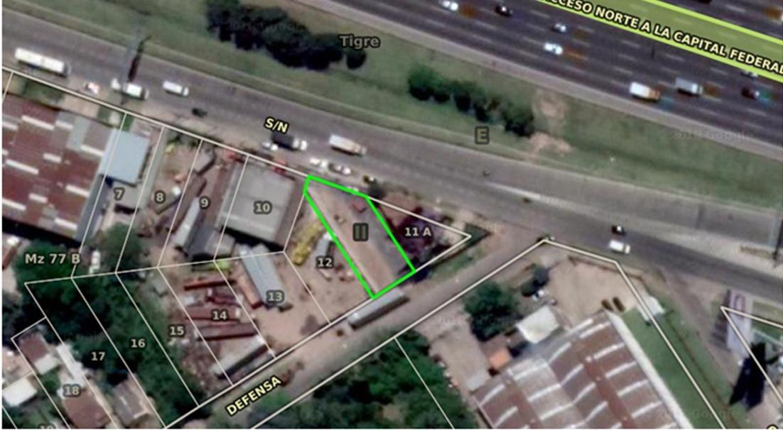 terreno con oficinas panamericana km.29 - el talar