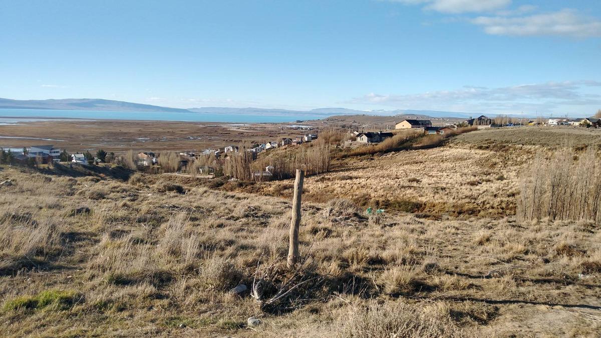 terreno con pendiente el calafate, hermosa vista al lago arg