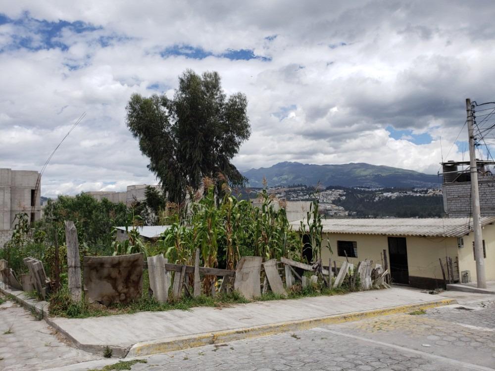 terreno con pequeña casa completamente habitable