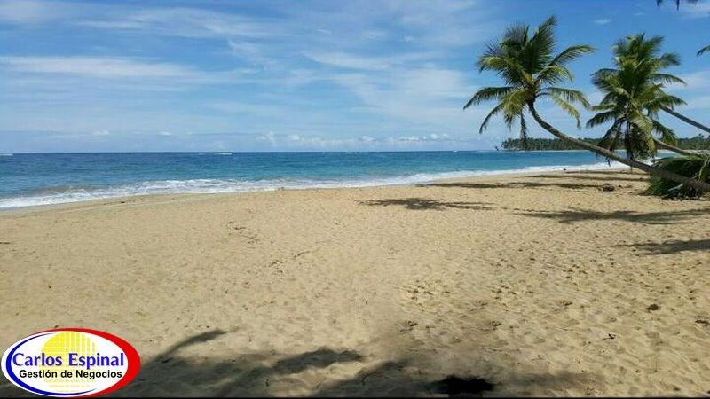 terreno con playa en venta en miches, republica dominicana t