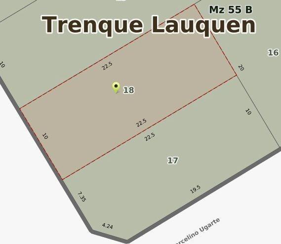 terreno con todos los servicios en venta en #trenquelauquen