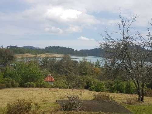 terreno con vista a la laguna de tulancingo