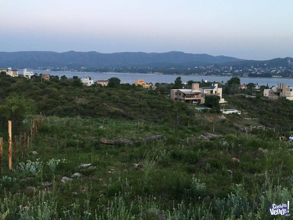 terreno con vista al lago-villa carlos paz