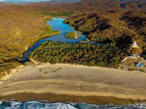 terreno con vista al mar cerca de huatulco, oaxaca