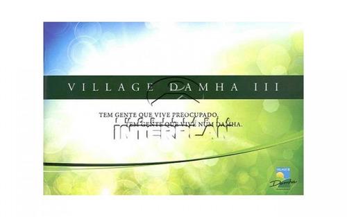 terreno condominio cidade: são josé do rio preto - sp  cond. village damha rio preto iii