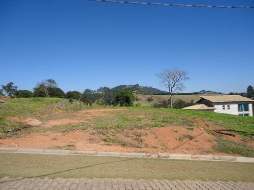 terreno condomínio fechado na represa / piracaia - tr-081