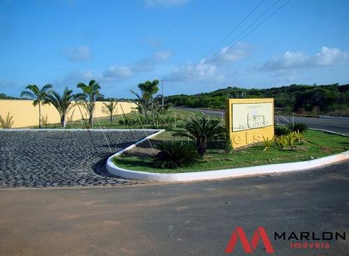 terreno condomínio fechado palm springs praia muriú
