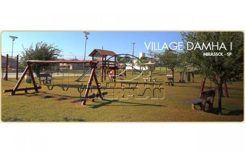 terreno condominio, mirassol - sp, bairro: cond. village damha mirassol i