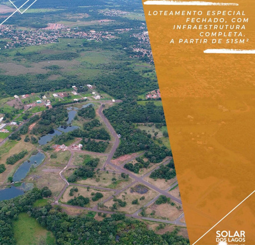 terreno condomínio solar dos lagos bonito -ms