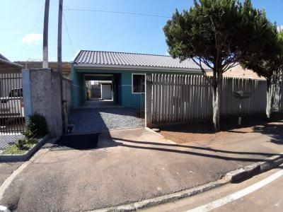 terreno contendo 2 casas em araucária - 210