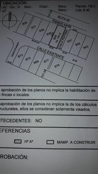 terreno de 1000 mts2 en punta medanos - barrio maritimo