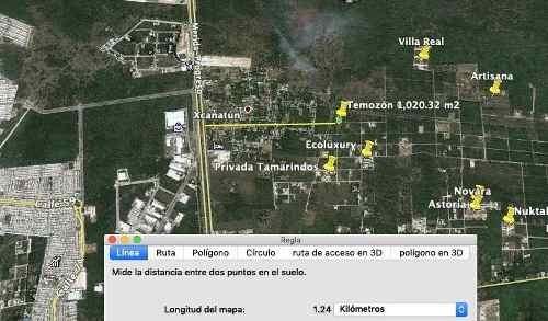 terreno de 1,020.32 m2 en temozon