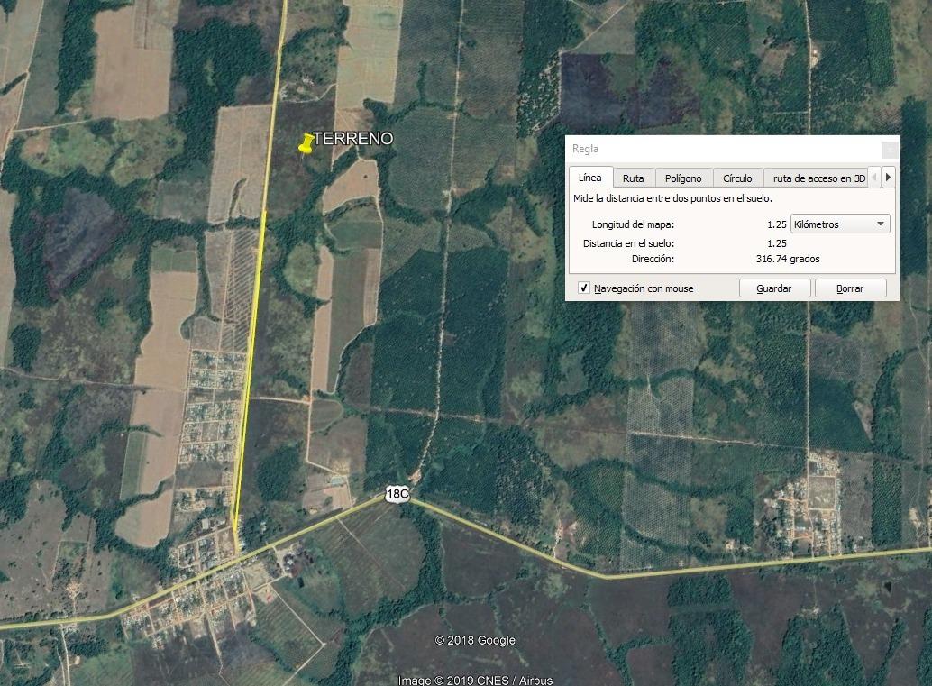 terreno de 10.6 hectareas en ucayali buena ubicación