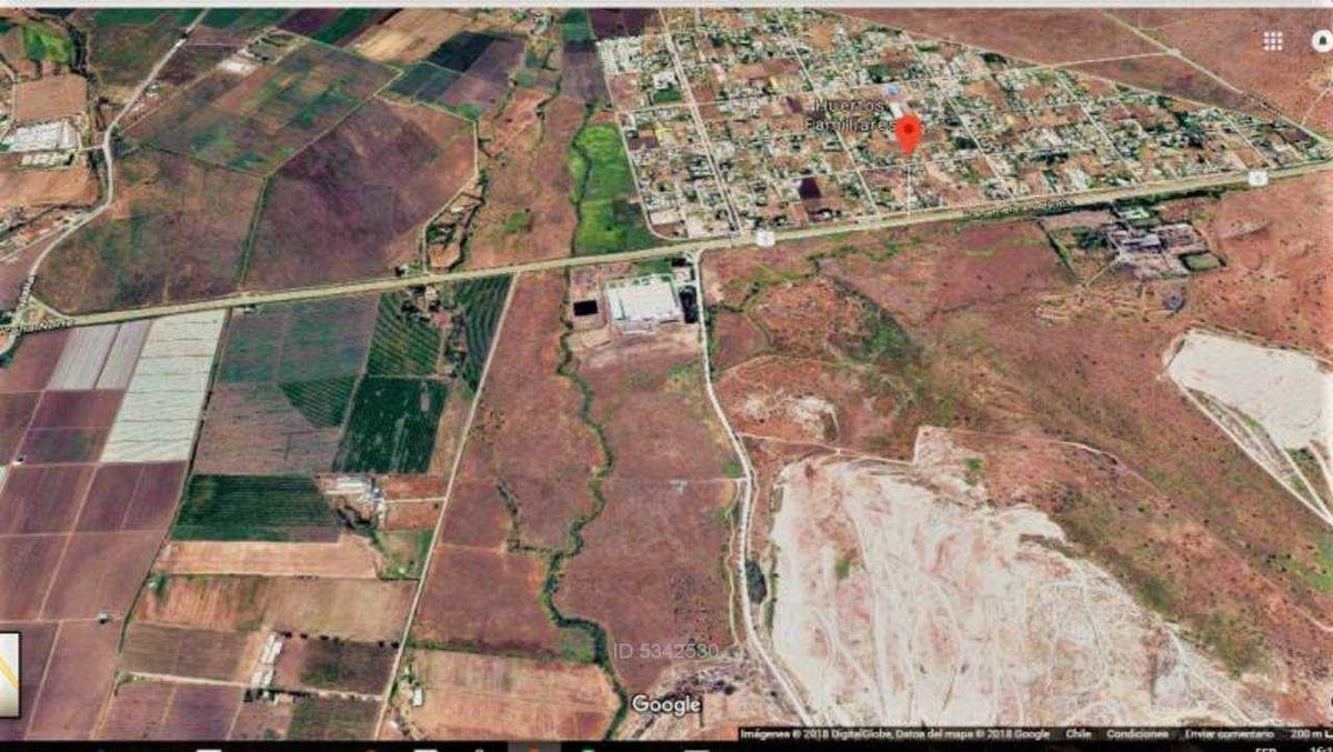 terreno de 11 hectáreas para zona indus