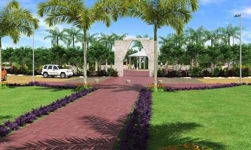 terreno de 110m2 en primera etapa de residencial arbolada en cancún c2240