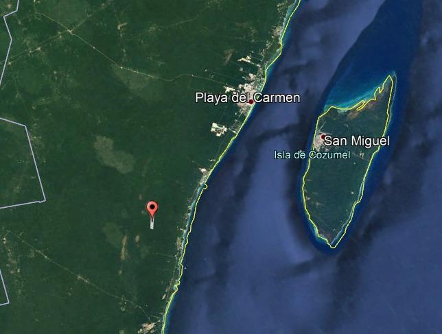 terreno de 115 hectáreas a 10km de akumal