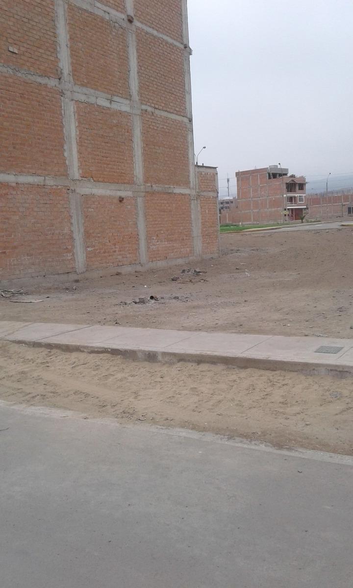 terreno de 120 m2 en la urbanización santa maría-carabayllo