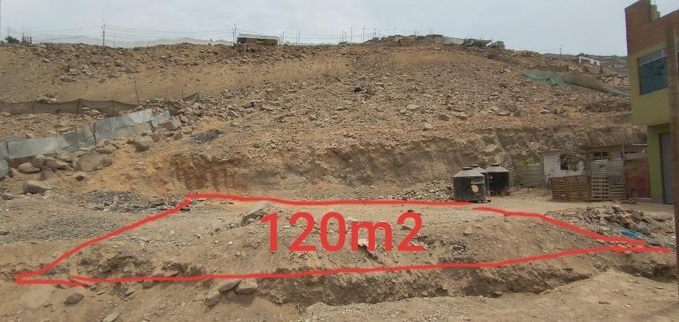 terreno de 120m2 en jicamarca anexo 22