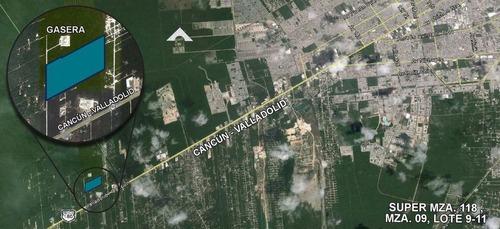 terreno de 14.6 hectáreas en cancún, quintana roo