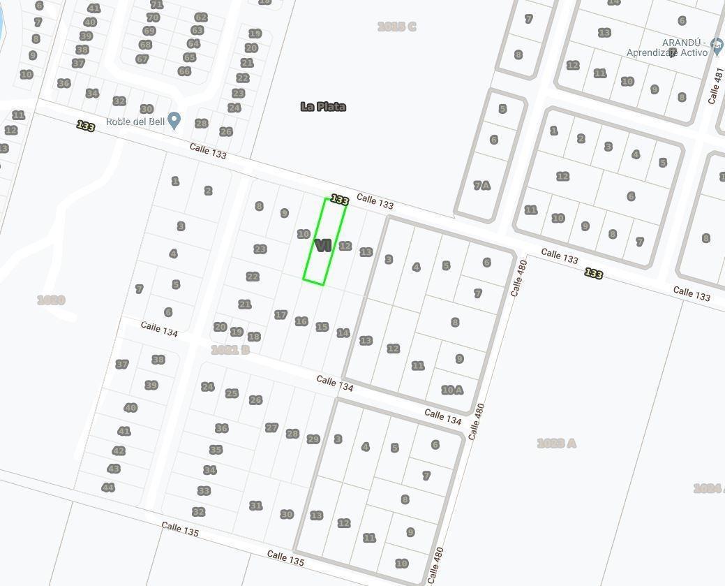 terreno de 14,9 x 59,09 mts-880 mts 2 - manuel b gonnet