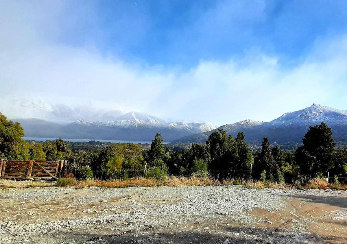 terreno de 1500m2 superpromocion bariloche con vista al lago