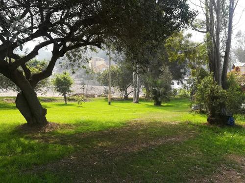 terreno de 200 metros , en los girasoles de huampani