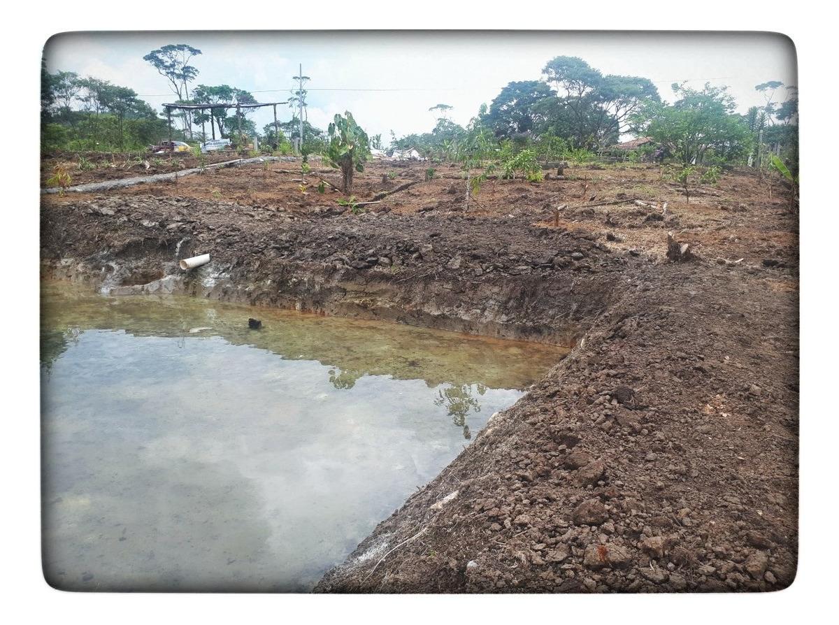 terreno de 2.000 m2 en la vía puyo-10 de agosto